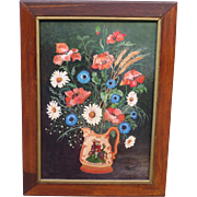 Antique Painting Antique Oil On Canvas Antiques Framed Painting