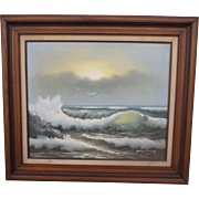 Oil On Canvas Framed Oil Painting