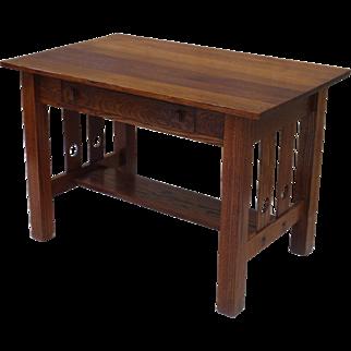 American Antique Arts and Crafts Desk Antique Craftsman Desk Antique Furniture