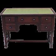 French Antique Desk Antique Leather Top Desk Antique Furniture