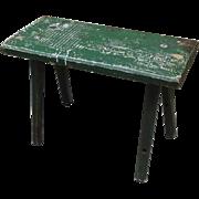 French Antique Stool Antique Bench Antique Milking Stool Antique Furniture