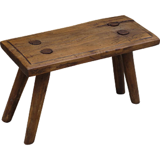 Antique French Stool Antique French Foot Stool Antique Bench Antique Furniture