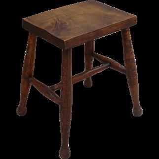 English Antique Stool English Antique Bench Antique Milking Stool Antique Furniture