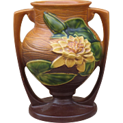 Original Roseville Pottery Vase Water Lily 91-8