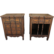Pair of French Antique Night Stands Antique Bed Stands Antique Side Tables Antique Furniture
