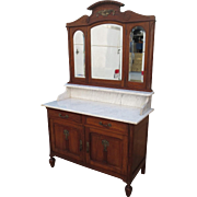 French Antique Dresser Antique Marble Top Washstand Antique Furniture Antique Cabinet