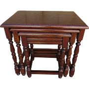 French Antique Nest of Tables French Antique Side Tables French Antique Accent Tables Antique Furniture
