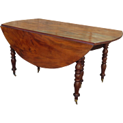 American Antique Victorian Table Antique Drop Leaf Table Antique Dining Table Antique Furniture