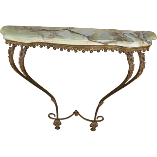 Antique Marble Top Console Table French Antique Furniture