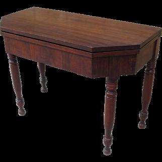 Antique Console Table Antique Flip Top Table Antique Game Table Antique Furniture
