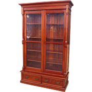 American Antique Victorian Bookcase Antique East Lake Bookcase Antique Furniture