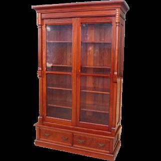 American Antique Victorian Bookcase Antique East Lake Bookcase Antique Furniture