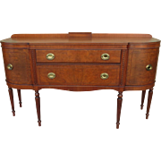 American Antique Sideboard Antique Server Antique Cabinet Antique Furniture
