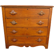 American Antique Dresser Antique Primitive Dresser Antique Chest of Drawers Antique Furniture