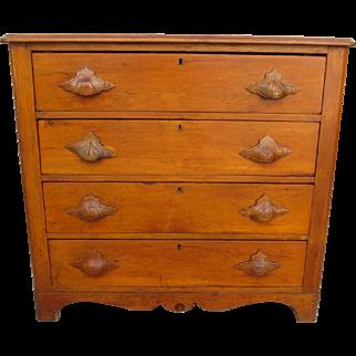 American Antique Dresser Antique Primitive Dresser Antique Chest of Drawers Antique Furniture