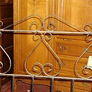 English Antique Iron Garden Gate
