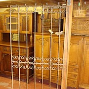 French Antique Hand Forged Iron Gate
