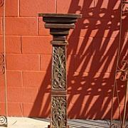 Spanish Antique Column Antique Pedestal Stand Spanish Antique Furniture