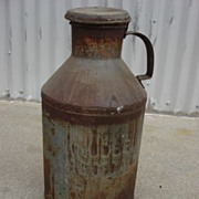 Knudson Dairy Antique Milk Can Cream can