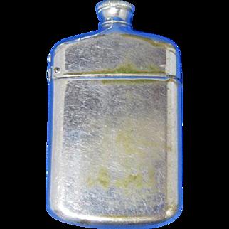 Figural flask or bottle match safe. c. 1897 by Wm. Schimper & Co.
