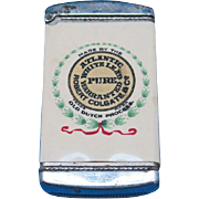 National Lead Co., Atlantic Branch - Robert Colgate & Co. celluloid wrapped match safe, by F.F. Pulver Co., c. 1905
