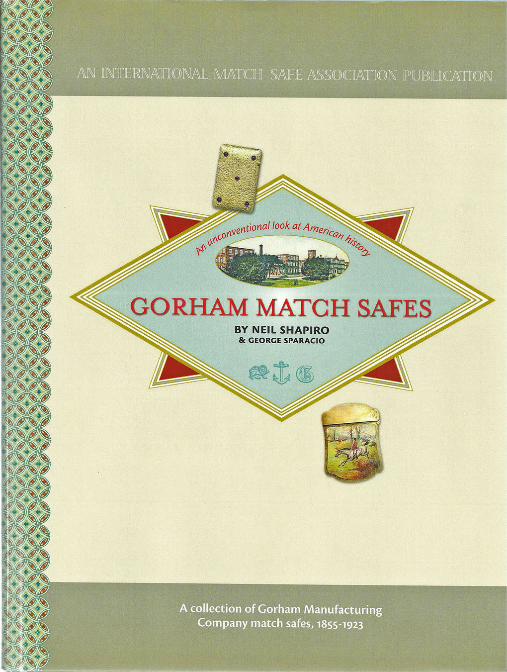 Gorham Match Safes book with CD by Shapiro & Sparacio