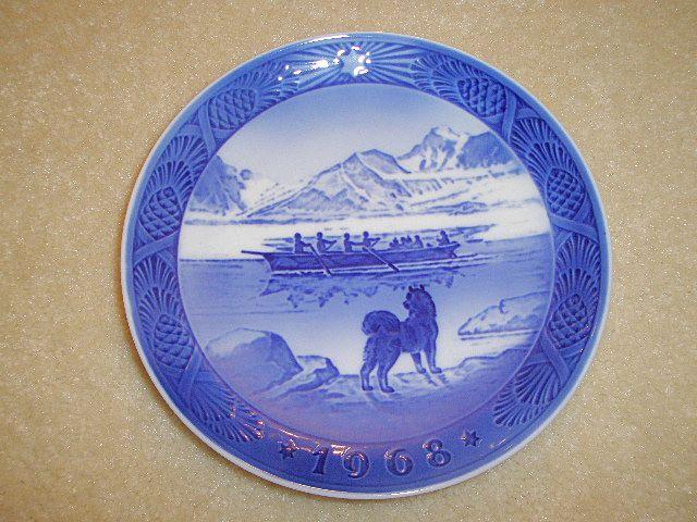 1968 Royal Copenhagen Christmas Plate (2 plates)