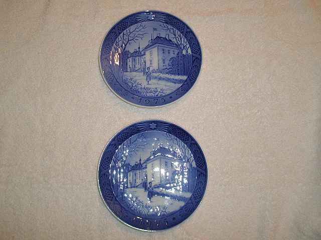 1975 Royal Copenhagen Christmas Plate(s) (2)