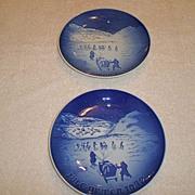 1972 Bing & Grondahl Christmas Plate(s) (2)