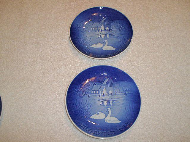 1974 Bing & Grondahl Christmas Plate(s) (2)