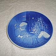 1978 Bing & Grondahl Christmas Plate