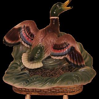 Mallard Duck TV Lamp