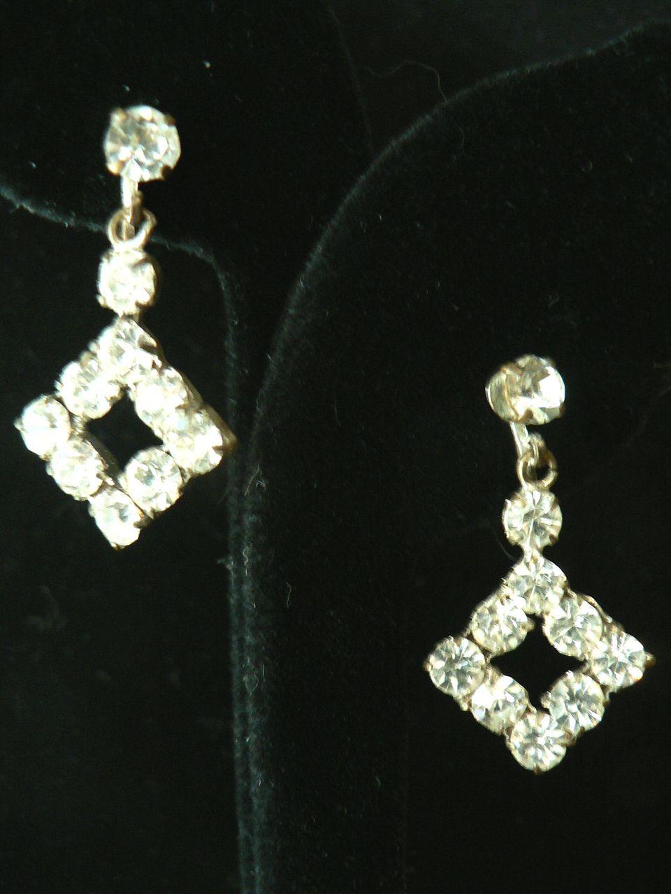 Crystal Vintage Earrings 39