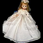 "Vintage Madame Alexander Cinderella Doll #1546 Mary Anne 14"""