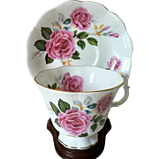 Vintage Royal Albert Bone China Rose Pattern Cup & Saucer set