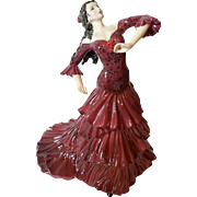 "Beautiful Coalport Figurine "" Bolero "" from A Passion For Dance Collection # 946/9,500"