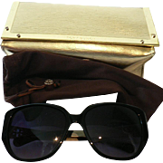 Black Tory Burch Sunglasses w. Case # TY 7014