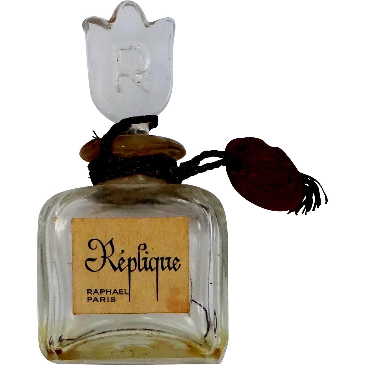 Replique Raphael Tiny Glass Perfume Bottle Made in France