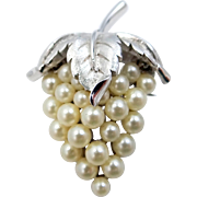 Trifari Cluster of Grapes Pin