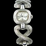 Trifari 17 Jewels Lady's Bracelet Wrist Watch