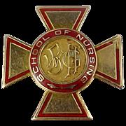 1959 10K Gold Wilkes-Barre General Hospital School of Nursing Pin