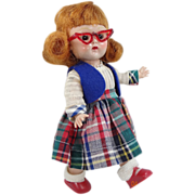 "Vogue Ginny 1954 SLW ""My Tiny Miss"" Redhead Doll"