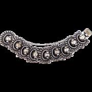 Vintage Rivera Taxco Mexico Sterling Silver Bracelet