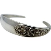 Vintage Stieff Sterling Silver Cuff Bracelet Corsage Pattern