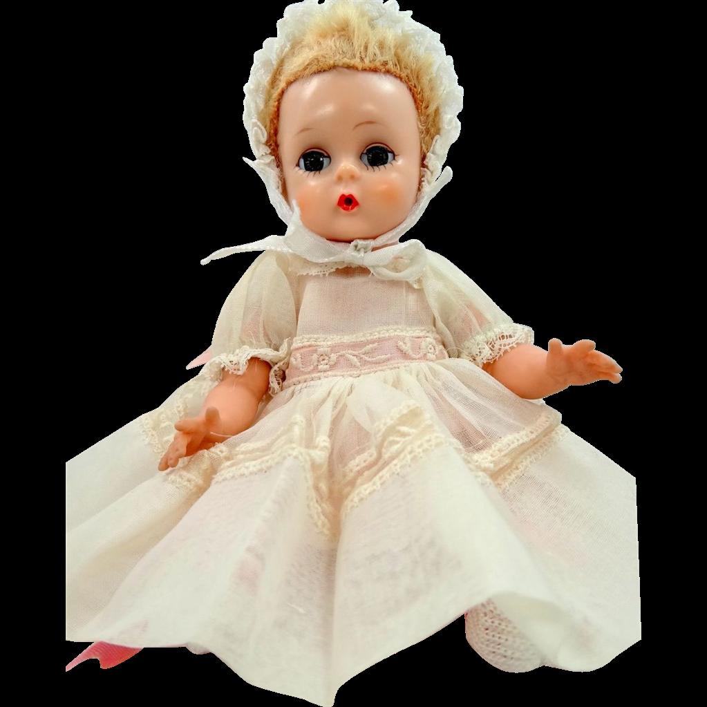 Madame Alexander Little Genius Doll With Original Dress