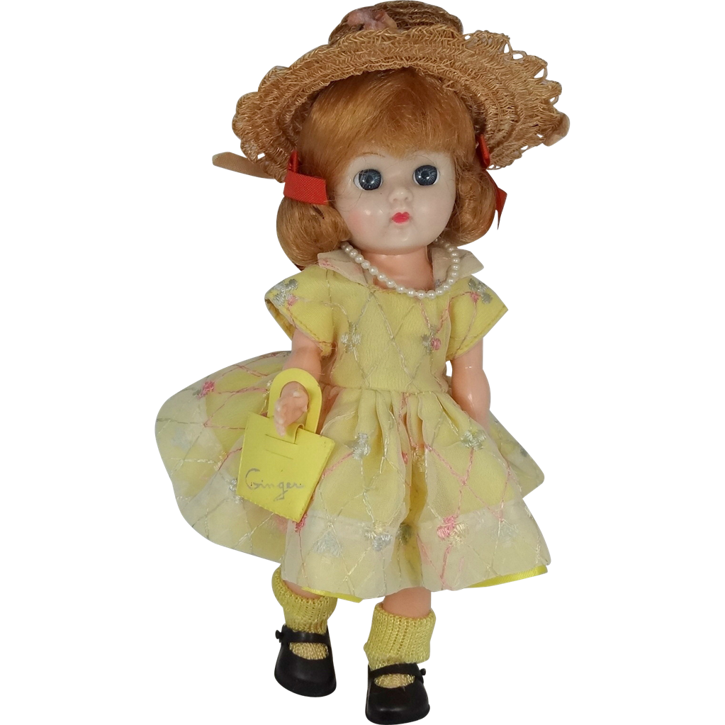 "1950s Cosmopolitan Ginger Doll ""Character Series"" #666 Outfit"