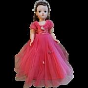 """Madame Alexander Story Princess 18"""" Cissy Doll 1950's"""