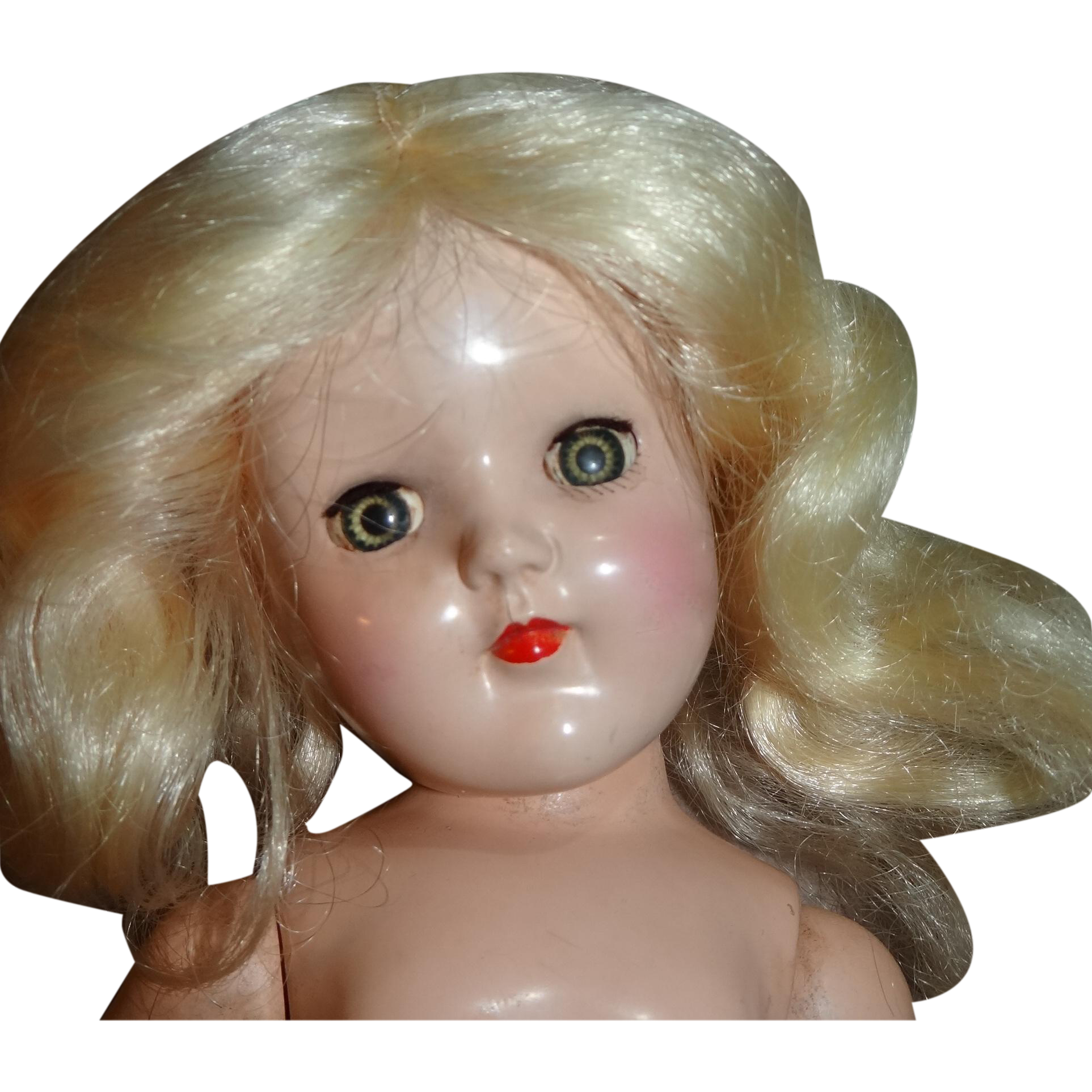 "Ideal 15"" High Platinum Blond Toni Doll P-91"