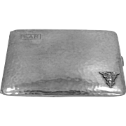 1930's U.S. Navy Sterling Silver Cigarette Case