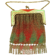1920's Art Deco Doll's Mesh Purse